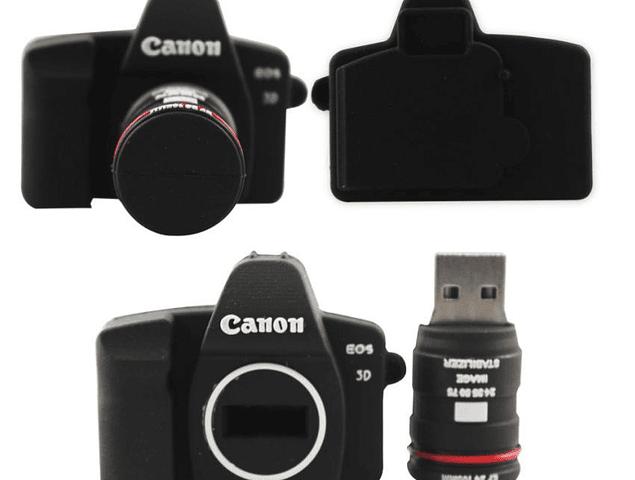 Pendrive Viajero 32GB - Camara Canon 5D