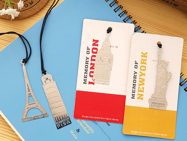 Marcador de Libros viajeros - Lleva 3 paga 2