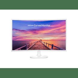 MONITOR SAMSUNG CURVED LED 32'' Full HD HDMI BASIC + WHITE