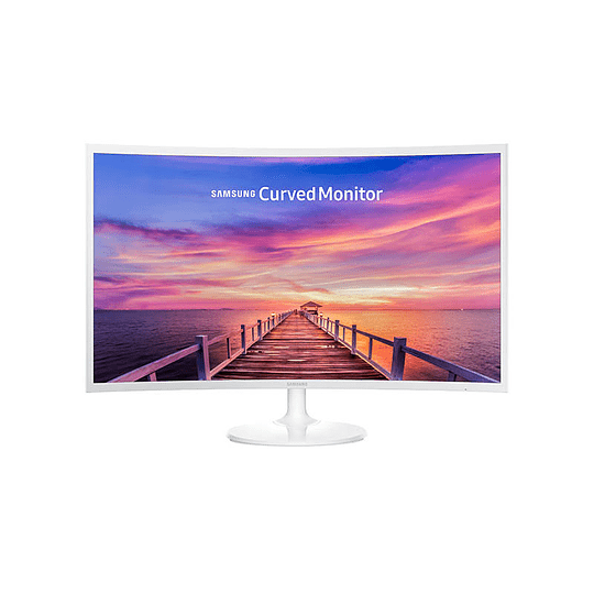 MONITOR SAMSUNG CURVED LED 32'' Full HD HDMI BASIC + WHITE