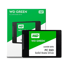 WD® Unidad SSD 120GB Sata3 2.5'' Green