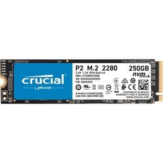 250GB SSD MX500 M.2 NVMe