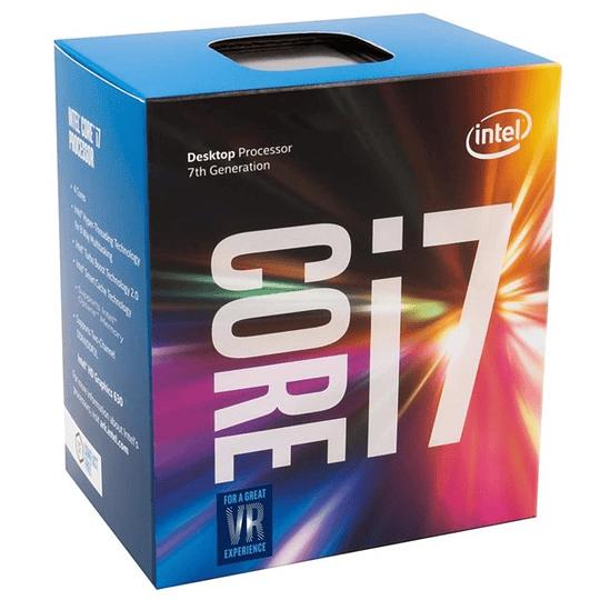 Procesador Intel® Core™ i7-7700 Quad-Core 8M Cache, up to 4.20 GHz