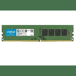 Memoria Crucial 4GB DDR4-2666 UDIMM