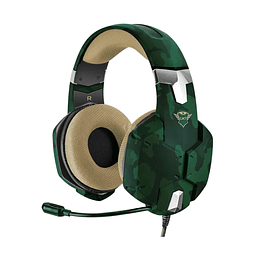 AUDIFONOS GXT 322C CARUS GAMING HEADSET, GREEN
