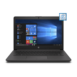 Notebook HP 240 G7 i3-7020U, 4GB DDR4, 1TB HDD, HD 14, SIN SITEMA OPERATIVO