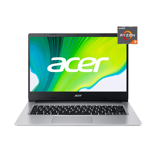 Notebook ACER Aspire 3 A314-22-R7EL-1  Ryzen 3 32500U, 8GB RAM, 256 SSD, 14 HD, W10