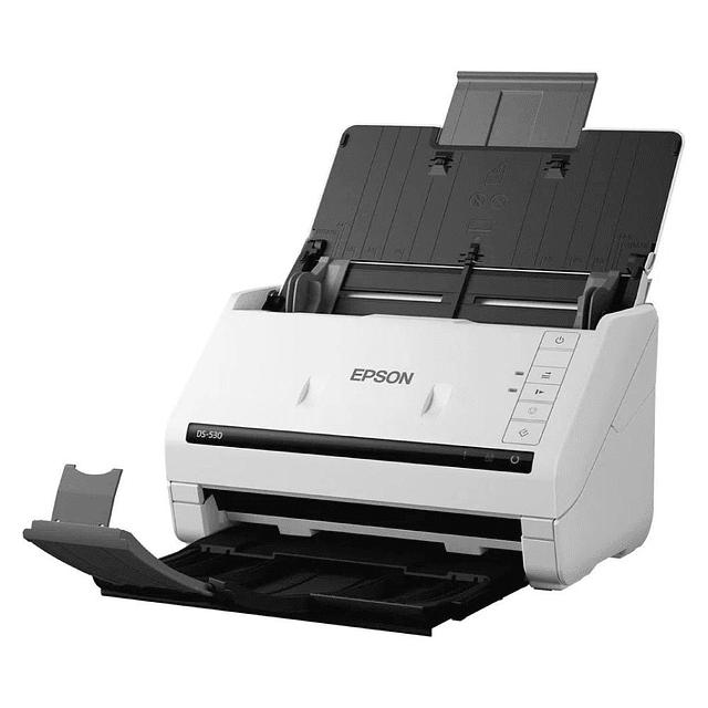 Escáner Epson DS 530, Alimentador Automático de 50 Hojas, 600 dpi, 35ppm