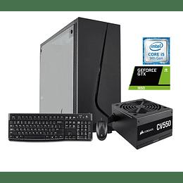 Desktop intel core i5 9400F,8GB,  1TB, 240GB, GTX1650, W10H