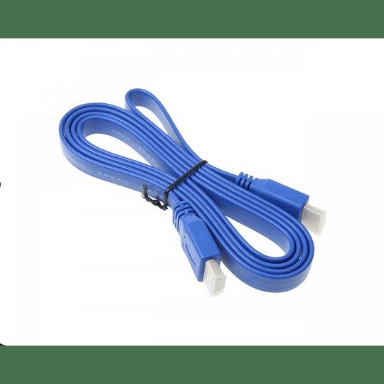 CABLE HDMI V1.4 PLANO M/M 5M