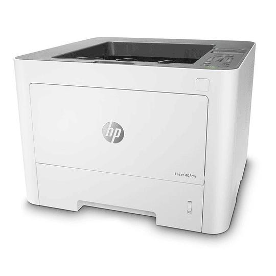Impresora Laser HP 408dn, Monocromática, 40ppm, Dúplex, USB+Ethernet
