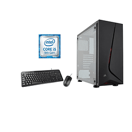 Desktop intel core i5 9400F, 8GB,  1TB,  G210,  W10H