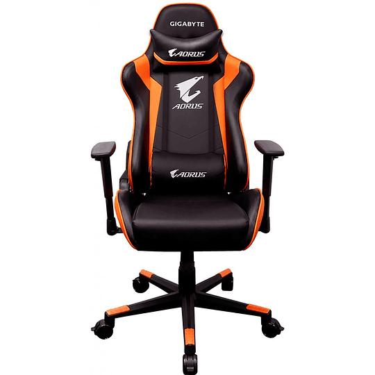 Silla Gamer Profesional Gigabyte Aorus AG C300 Negro, Naranja
