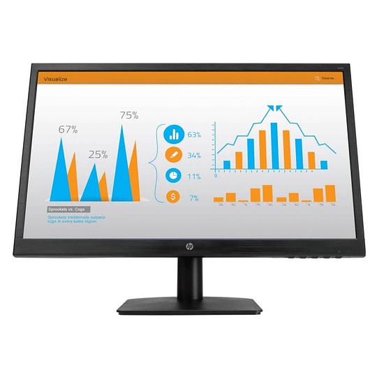 Monitor HP N246v de 23.8, FHD 1920x1080, 60Hz, HDMI, DVI D, HDMI