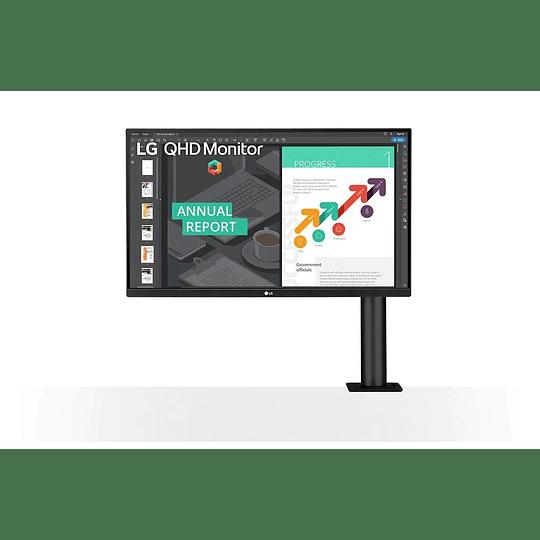 Monitor LG 27'' QHD (2560x1440) IPS 27QN880B