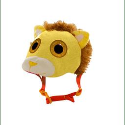 Casco 3D peluche leon