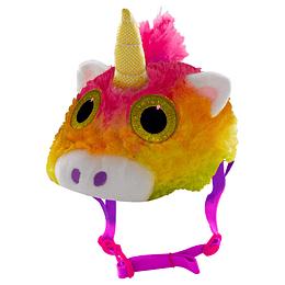 Casco 3D Funda Peluche Unicornio