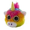 Casco 3D peluche unicornio