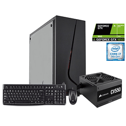 Desktop intel core i7-9700/ 16GB Ram/ 1TB HDD/ GTX 1650 4GB/ W10H