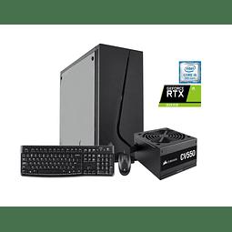 Desktop Gamer intel core i5-9400F/ 16GB/ 256GB SSD/ RTX 3070/ W10H