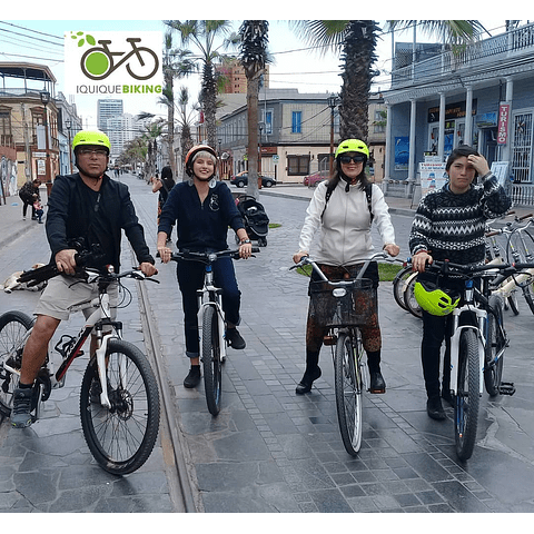 Iquique City Tour on Bike