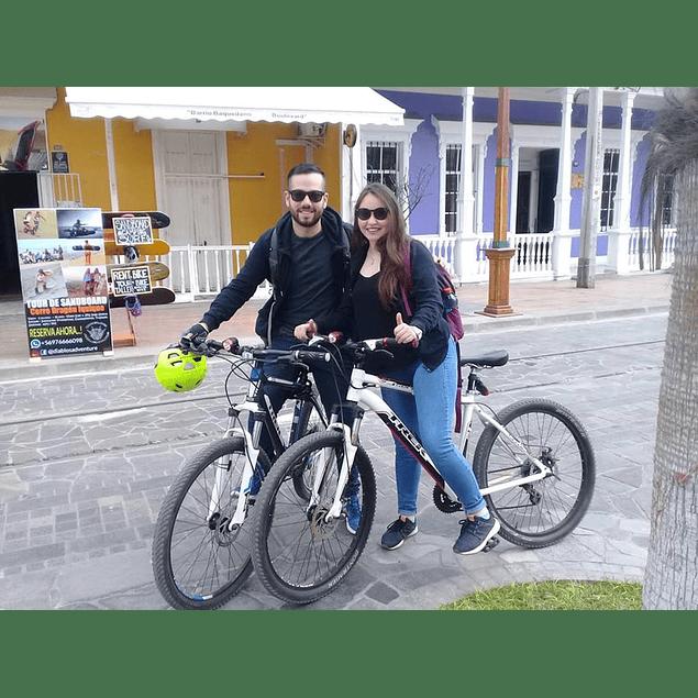 Iquique City Tour on Bike.