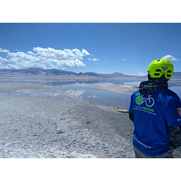 Tour on Bike Salar de Huasco y Oasis de Pica