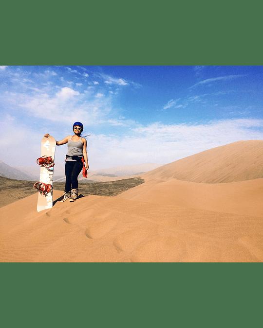 Tour Sandboard Cerro Dragon Iquique