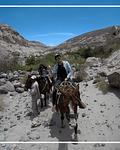Cabalgatas en Huasquiña