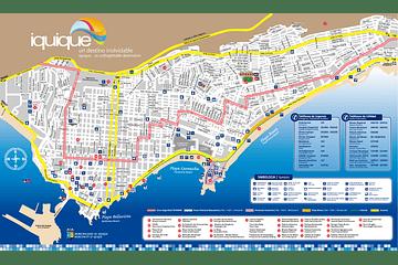 Mapa de Iquique