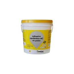 Adhesivo Weber Solcrom Pasta Especial AC 25 kg
