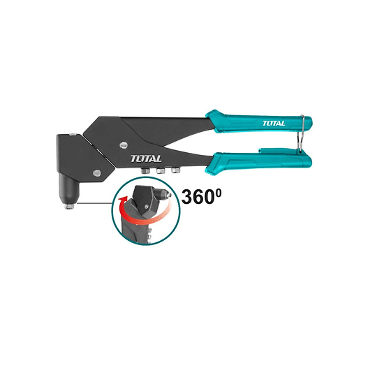 Remachadora TOTAL 10.5'' cuerpo acero THT32106