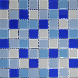 Malla de Mosaico de vidrio 30X30 4 mm Cod. GL4009