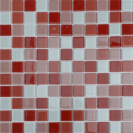 Malla de Mosaico de vidrio 30X30 4 mm Cod. GL4032 Caja Rinde 1.98 m2