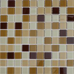 Malla de Mosaico de vidrio 30X30 4 mm Cod. GL4035 Caja Rinde 1.98 m2