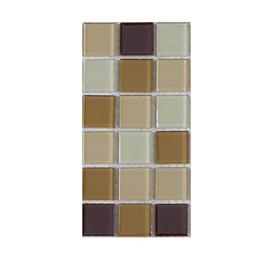 Malla de Mosaico de vidrio 30X30 4 mm Cod. GL4035