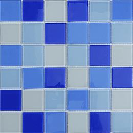 Malla de Mosaico de vidrio 30X30 4 mm Cod. GL4121 Caja Rinde 1.98 m2