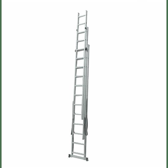 Escalera de extensión de sección 3X12 Cod: DX3X12