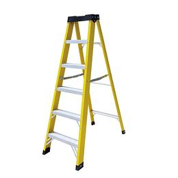 Escalera de Fibra tipo tijera 9 Peldaños Cod: LHBQ09