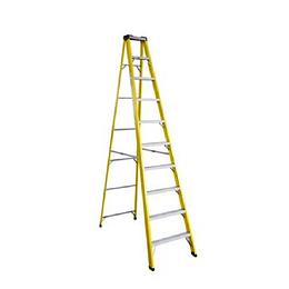 Escalera de Fibra tipo tijera 12 Peldaños Cod: LHBQ12