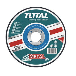 "DISCO CORTE METAL 7"" 180MM  X 1.6MM TOTAL TAC2211802"