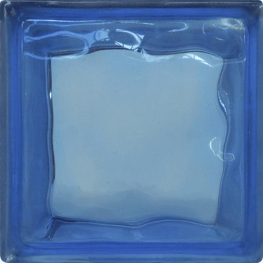 Block de Vidrio 19x19  Blue Cloudy
