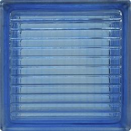 Block de Vidrio 19x19  Blue Parallel