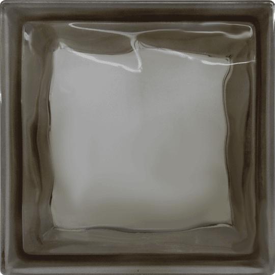 Block de Vidrio 19x19  Brown Cloudy