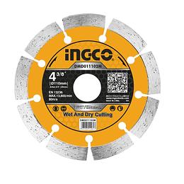 "DISCO DIAMANTADO 4 3/8"" INGCO DMD011102M  (MAQ MARMOL)"