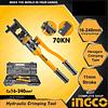 Alicate Aprieta Terminales Prensa Hidraulica 8TON 18 mm HHCT01240