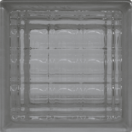 Block de Vidrio 19x19 Large Crystal Clear