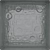 Block de Vidrio 19x19 Rain