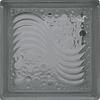 Block de Vidrio 19x19 Sea Wave Clear