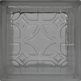 Block de Vidrio 19x19  Well Shape Clear